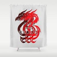 House Targaryen - Game O… Shower Curtain
