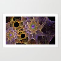 Astrocytes Of Unknown Or… Art Print