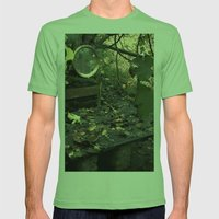 otoño Mens Fitted Tee Grass SMALL