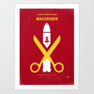 No317 My MacGruber Minim… Art Print