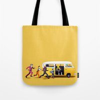 A Courtroom on the Verge of a Breakdown Tote Bag