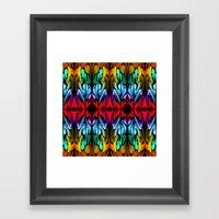 Parrot Patterns Framed Art Print