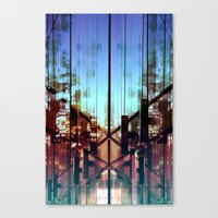Flipped On Canvas Print