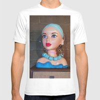 Mannequin - Detroit, MI Mens Fitted Tee White SMALL