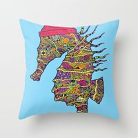 The Z Horse Throw Pillow