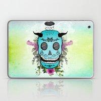 Rain Skull Laptop & iPad Skin