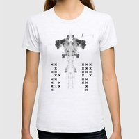 Fear Womens Fitted Tee Ash Grey SMALL