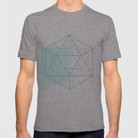 Platonic Water Mens Fitted Tee Athletic Grey SMALL