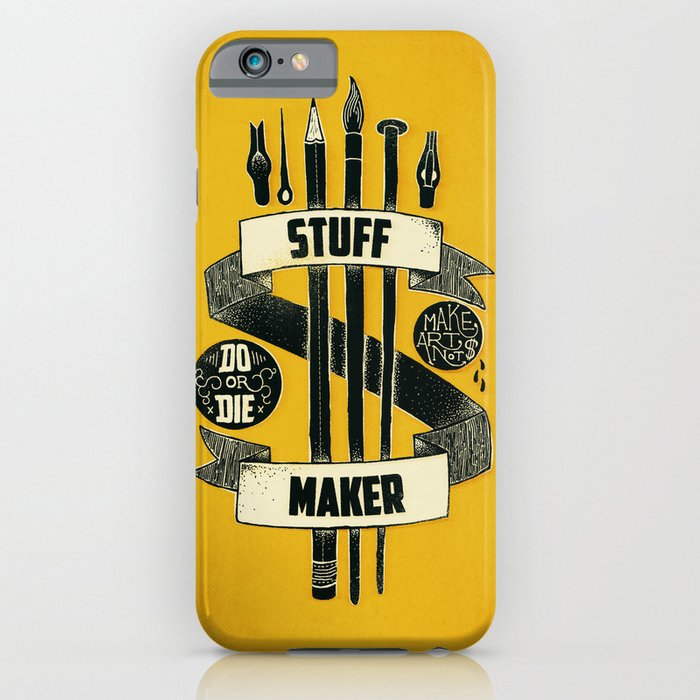 stuff maker iphone ipod case by landon sheely society6