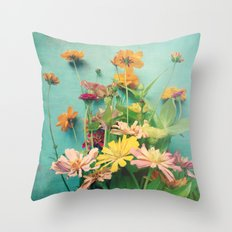 I Carry You With Me Into the World Throw Pillow