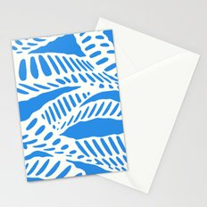 Al Peas: Blue Ivory Stationery Cards