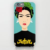 iPhone & iPod Case featuring Frida Kahlo by afrancesado