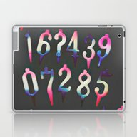 Numbers! Grey Laptop & iPad Skin