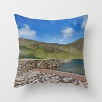 Levers Water Throw Pillow