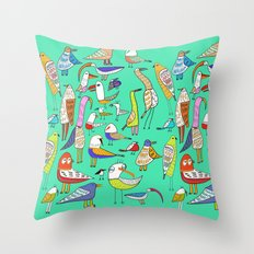 Tweet Tweet Tweet. Throw Pillow