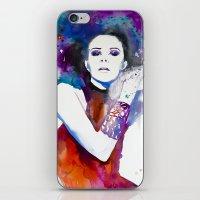 Colorful Girl  iPhone & iPod Skin
