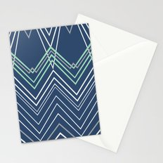 Navy Chevy Stationery Cards