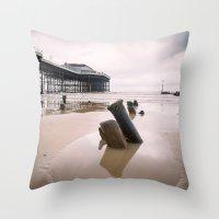 Cromer - Winter Day Throw Pillow