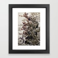 Ten Brothers Framed Art Print