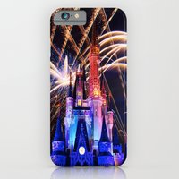 iPhone & iPod Case featuring Walt Disney World Christmas Eve Fireworks by xjen94