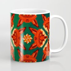 Fox Cross geometric pattern Mug