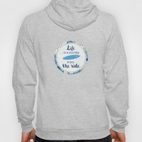 Life is a journey - surf waves Hoody