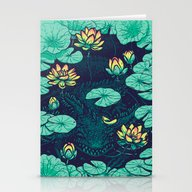 Lotus Eater Stationery Cards