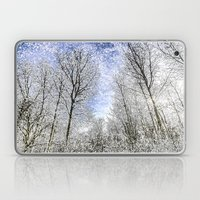 Magical Snow Trees  Laptop & iPad Skin