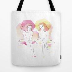 Les Demoiselles de Rochefort Tote Bag