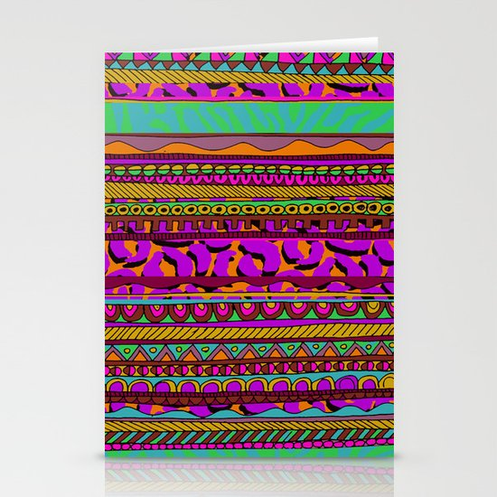 Tribal Stationery Card