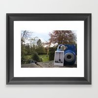 First Ever Polaroid Framed Art Print