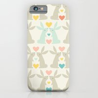 Bunnies and Hearts iPhone 6 Slim Case