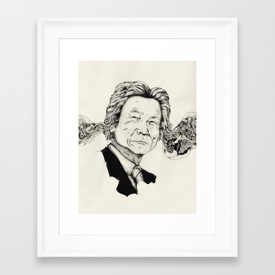 Mr. Junichiro Koizumi  Framed Art Print