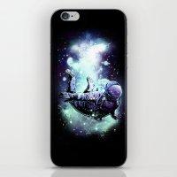 Swim In Space iPhone & iPod Skin
