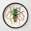 Insect V Wall Clock
