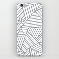 Abstraction Lines Zoom G… iPhone & iPod Skin