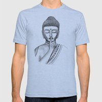 Shh... Do Not Disturb - … Mens Fitted Tee Athletic Blue SMALL