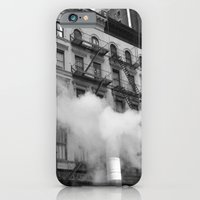 iPhone & iPod Case featuring NY smoke by Constanza Ruiz