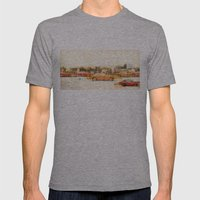 Automatic Mens Fitted Tee Athletic Grey SMALL