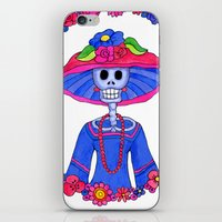 Catrina Doña Adela iPhone & iPod Skin