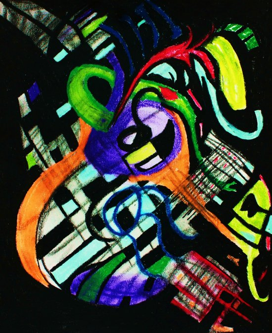 broken strings Art Print