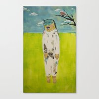 Eror, Teror, Happiness Canvas Print