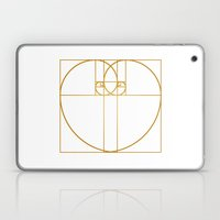 Heart of Gold Laptop & iPad Skin