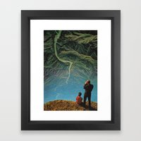 Possible paper place II Framed Art Print