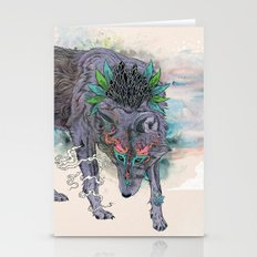Journeying Spirit (wolf) Stationery Cards