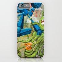 iPhone & iPod Case featuring Battle by Bili Kribbs