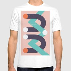 Devi Mens Fitted Tee SMALL White