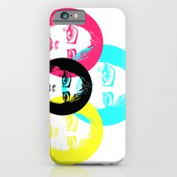 iPhone & iPod Case featuring CMYK Punk by Brennen Perry