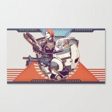 Mass Effect : Shep & Garrus v.2016 Canvas Print