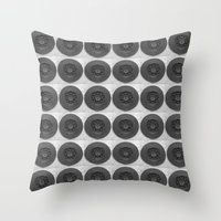 Screen Cover Throw Pillow